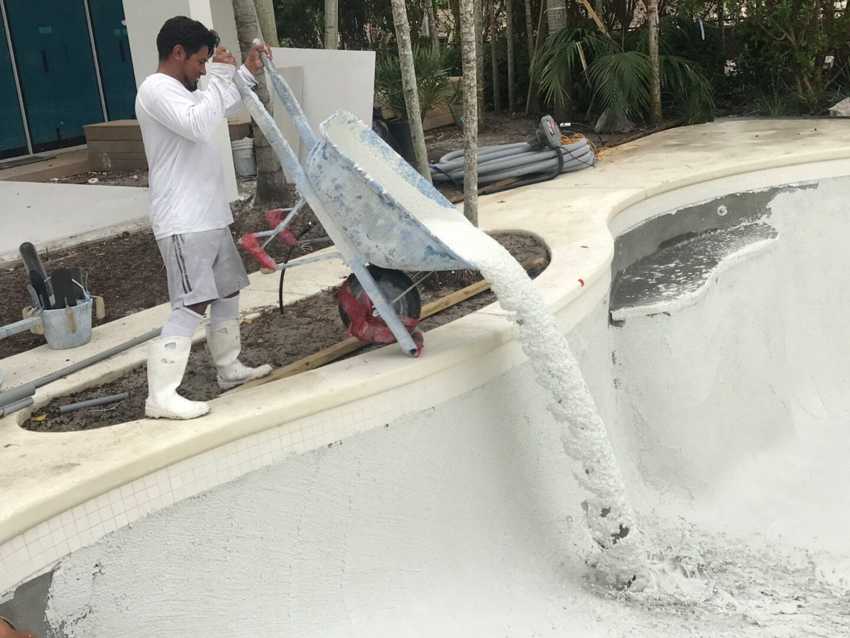Pool Plaster Remodel