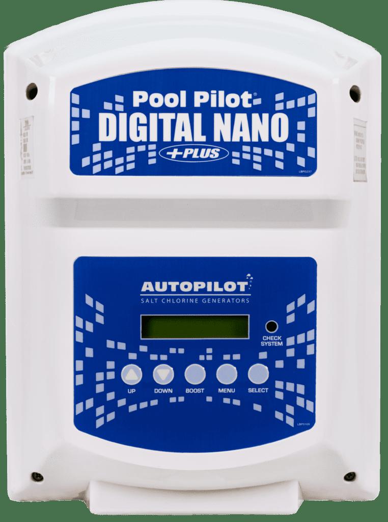 Pool Pilot ® digital nano salt chlorine generator