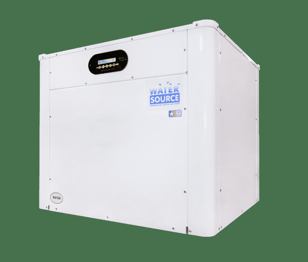 White Watersource heat pump