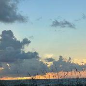 Cloudy, sunset skies (100 x 100)